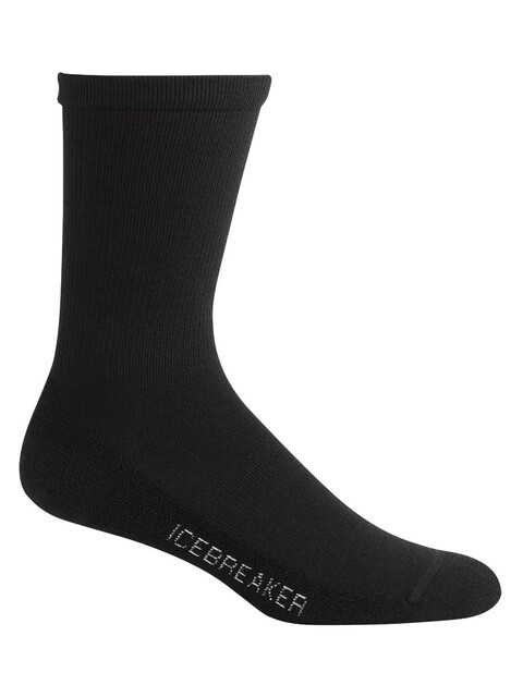 Icebreaker Lifestyle Light Crew Socks Men black